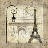 Paris Holiday Kunstdrucke von Keith Mallett