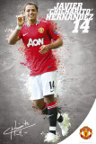 Manchester United-Hernandez 2011-2012 Posters