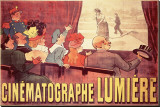 Cinematographe Lumiere Stretched Canvas Print