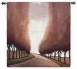 Forest Road Wall Tapestry