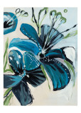 Flowers of Azure I Posters by Angela Maritz