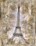 Eiffel Tower Posters by Marta Wiley