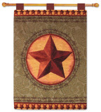 Western Star Wall Tapestry