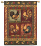 Mediterranean Roost Wall Tapestry