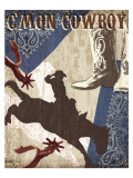 C'mon Cowboy Prints by Tandi Venter