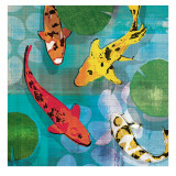 Lucky Koi I Posters by Tandi Venter