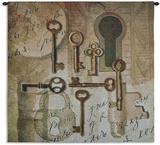 Olde Keys Wall Tapestry by Sarah Simpson