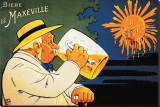 Maxeville Beer Stretched Canvas Print