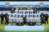 Manchester City-Team Photo 2011-2012 Prints
