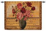 Paris Rose Wall Tapestry
