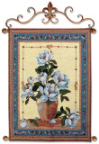 Spring Magnolias Wall Tapestry