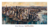 South Manhattan Poster by Marti Bofarull