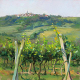Flauvigny View Prints by Christine Debrosky