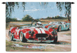 Racing in the USA Wall Tapestry