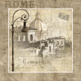 When in Rome Poster by Keith Mallett
