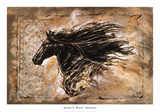 Black Beauty Print by Marta Wiley