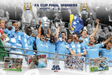 Manchester City-FA Cup Winners Prints
