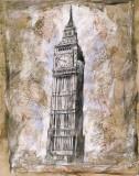Big Ben, Londres - Horloges Posters par Marta Wiley
