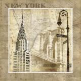 New York Serenade Plakater af Keith Mallett