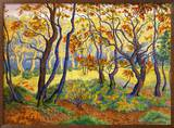 Edge of the Forest Gerahmter Giclée-Druck von Paul Ranson