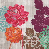 Peony Patterns I Art by Tandi Venter