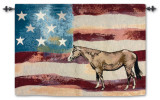 American Horse Wall Tapestry