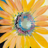 Sunshine Flower IV Prints by Leslie Bernsen