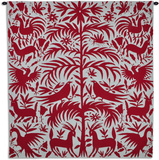 Otomi Poppy Wall Tapestry