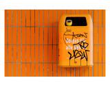 Naranja Lámina giclée de primera calidad por Michael Belhadi