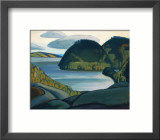Coldwell Bay, North of Lake Superior Gerahmter Gicl&#233;e-Druck von Lawren S. Harris