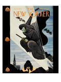 New Yorker Cover - October 31, 1942 Regular Giclee Print by Rea Irvin