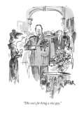 """This one's for being a nice guy."" - New Yorker Cartoon Premium Giclee Print by Robert Weber"