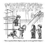 """This is my friend Robert Shapiro, except he's not the real Robert Shapiro…"" - New Yorker Cartoon Premium Giclee Print by Mort Gerberg"
