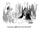 """I may have waffled, but I never lip-synched."" - New Yorker Cartoon Premium Giclee Print by Warren Miller"
