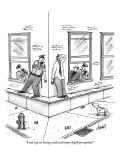 """I can't go on living with such lousy depth perception!"" - New Yorker Cartoon Premium Giclee Print by Tom Cheney"