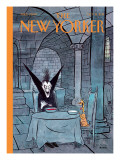 Diner a deux - The New Yorker Cover, October 31, 2011 Regular Giclee Print by George Booth
