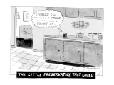 The Little Preservative That Could - New Yorker Cartoon Premium Giclee Print by Danny Shanahan