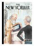 The Book of Life - The New Yorker Cover, October 17, 2011 Premium Giclee Print by Barry Blitt