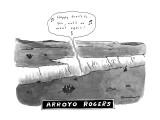ARROYO ROGERS. - New Yorker Cartoon Premium Giclee Print by Danny Shanahan