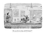 """""""Are you the one they call El Cóndor?"""" - New Yorker Cartoon Premium Giclee Print by Danny Shanahan"""