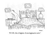 """It's O.K., hon, it happens.  It even happened to NATO."" - New Yorker Cartoon Premium Giclee Print by Robert Mankoff"