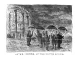 After Dinner at the White House - New Yorker Cartoon Premium Giclee Print by James Stevenson