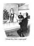 """A bloody Mary, Chuck—weapons grade."" - New Yorker Cartoon Premium Giclee Print by J.B. Handelsman"