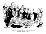 """""""In Charlie's hands wealth just never seems obscene, no matter how big it …"""" - New Yorker Cartoon Premium Giclee Print by William Hamilton"""