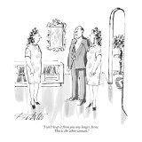 """I can't keep it from you any longer, Irene.  This is the other woman."" - New Yorker Cartoon Premium Giclee Print by Mischa Richter"