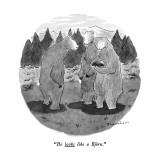 """He looks like a Björn."" - New Yorker Cartoon Premium Giclee Print by Danny Shanahan"
