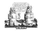 Idol Gossip - New Yorker Cartoon Premium Giclee Print by Edward Frascino