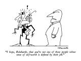 """I hope, Reinhardt, that you're not one of those people whose sense of sel…"" - New Yorker Cartoon Premium Giclee Print by Charles Barsotti"