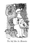 The Self Has Its Memories - New Yorker Cartoon Premium Giclee Print by William Steig