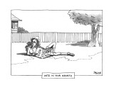 ANTZ IN YOUR KRANTZ - New Yorker Cartoon Premium Giclee Print by Jack Ziegler